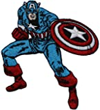 Application Marvel Comics Retro Captain America Patch