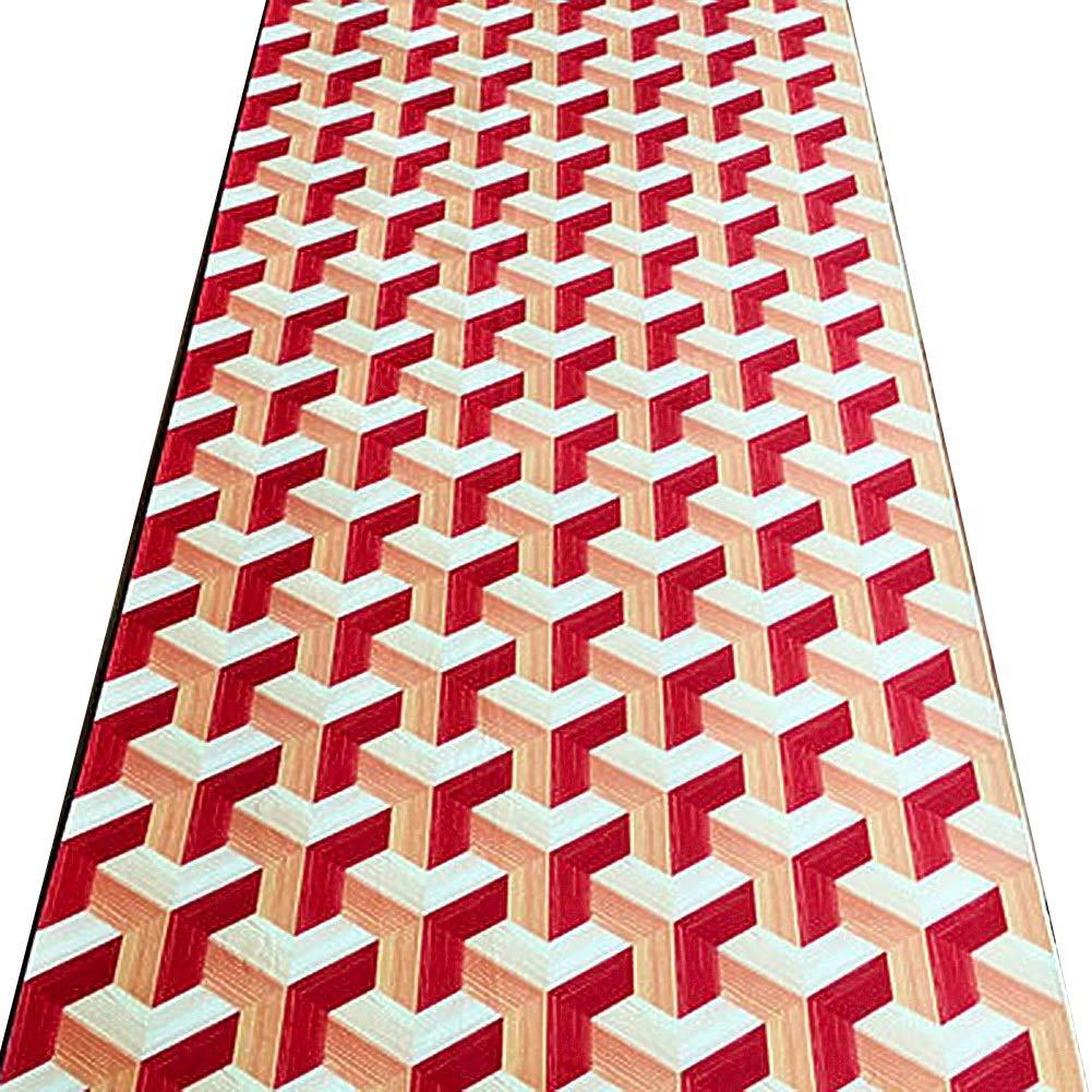 HAIPENG 廊下のカーペット 3D カーペット 長いです ランナー ラグ にとって 廊下 階段 床 エリアラグ と 滑り止め バッキング エントランス マット 狭い エントリ 敷物 (色 : A, サイズ さいず : 1.6x7m) 1.6x7m A B07PKV3YG3