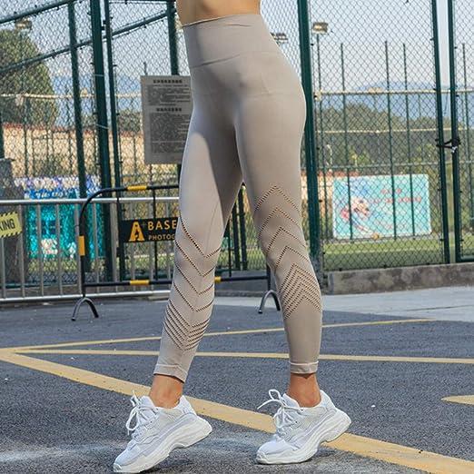 Kinlene Moda Mujer Encaje Flaco Yoga Deporte Pantalones ...