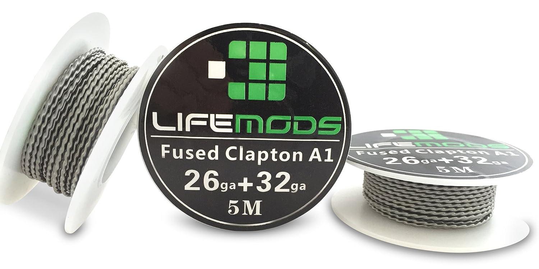 LifeMods Fusing Clapton hitzebeständig A1 Draht Spule AWG 26/32 ...