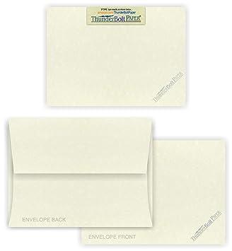 Amazon.com: 5 x 7 tarjetas en blanco con sobres A-7 – blanco ...