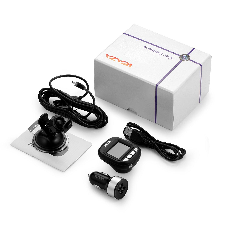 WAZA Mini Dashcam Autokamera Full HD 1080P Nachtsicht Loop ...