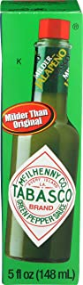 product image for Tabasco Hot Sauce, Mild Green Pepper, 5 oz