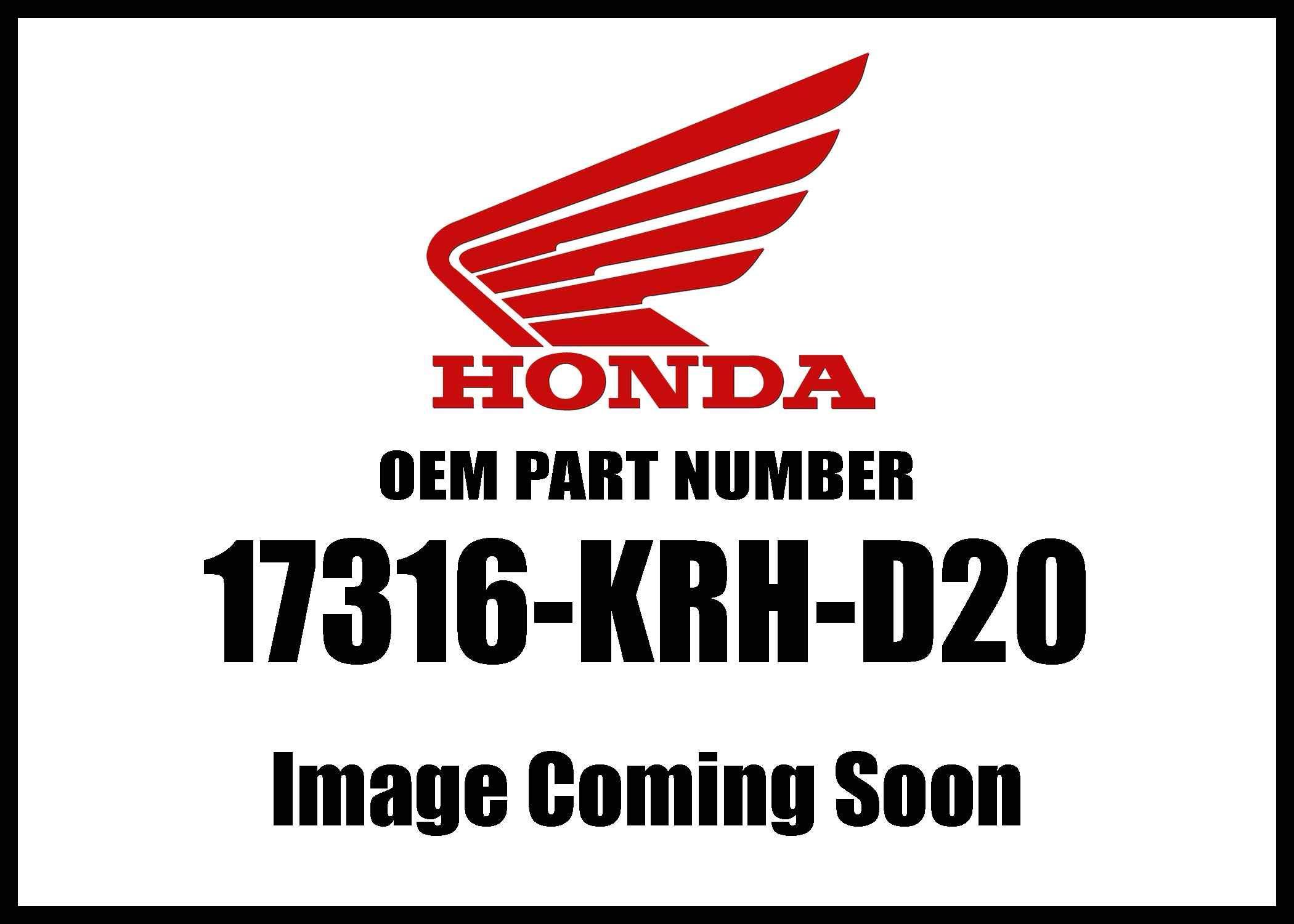 Honda Crf250f '19 Clip Breather Tube 17316-Krh-D20 New Oem