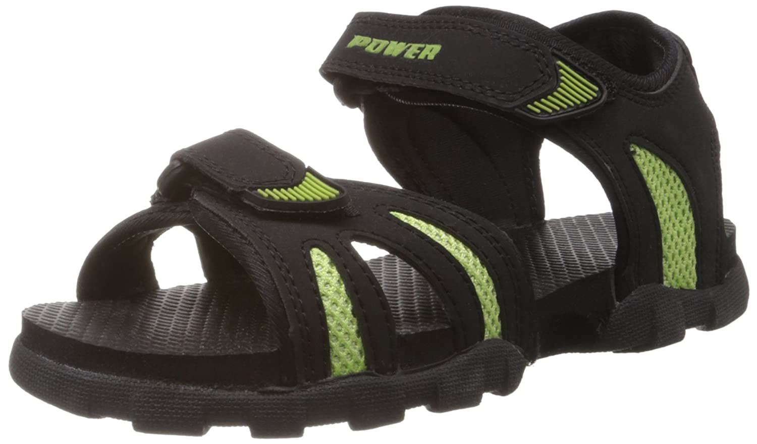 Power Boys Rafter Black Sandals and