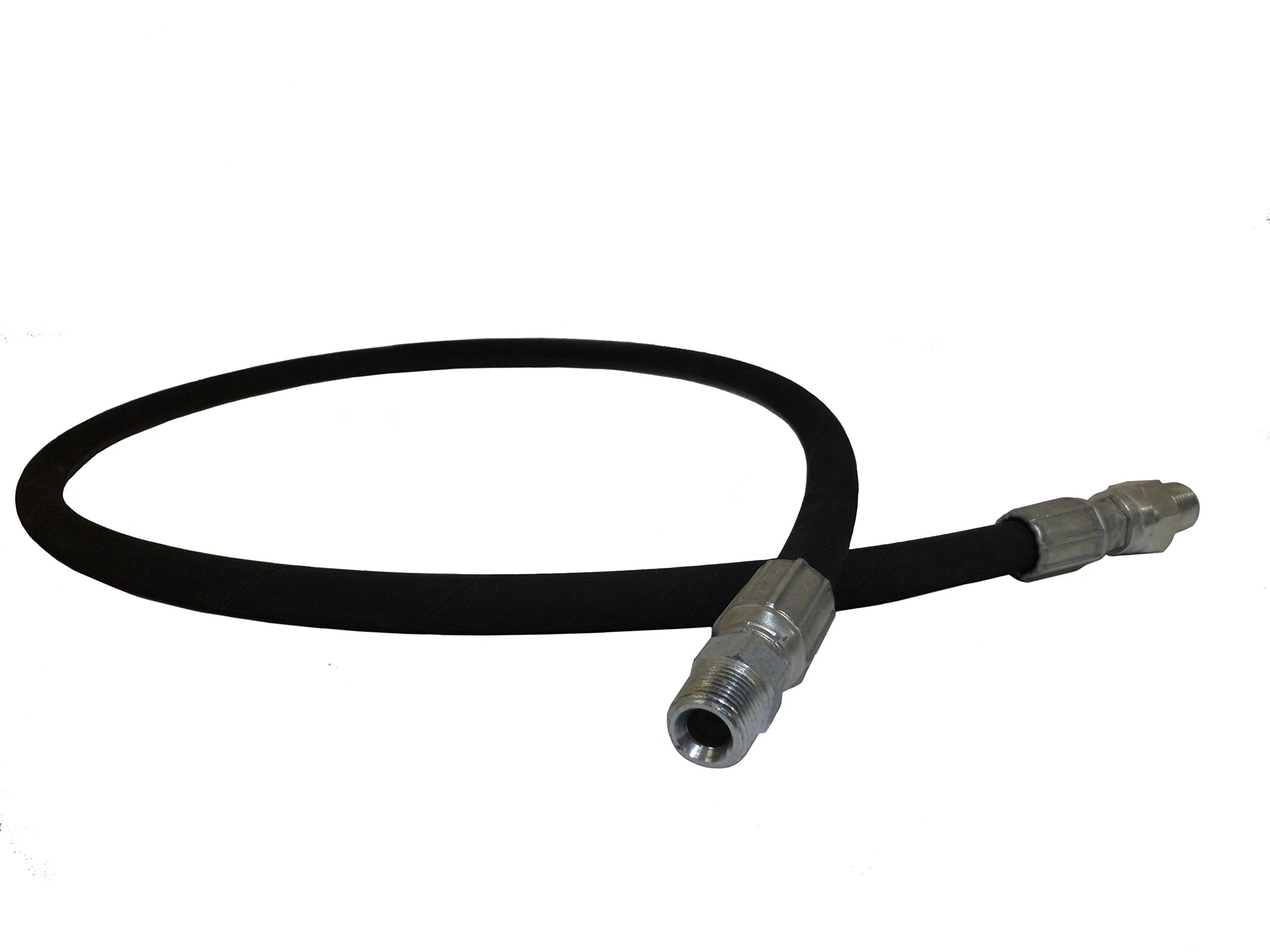 Ultimate Washer UW16-SEE49A Pressure Washer Jumper Connection Hose, 4FT Hose, 3/8-Inch Male Pipe Thread, 4000 PSI Rated by Ultimate Washer