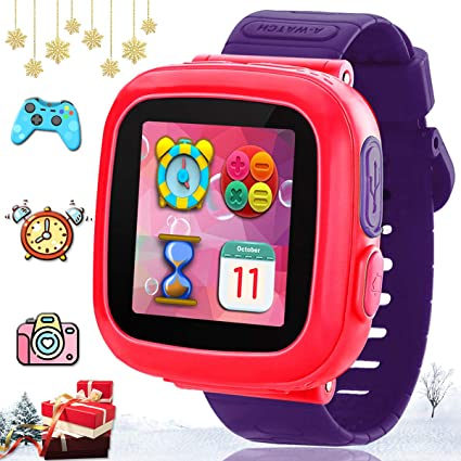 TURNMEON Kids Game Smart Watch-Smartwatch for Kids Boys Girls Toddlers Digital Wrist Watch with Game Pedometer Camera Alarm Clock Electronic Systems ...