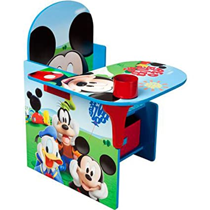 Amazing Disney Chair Desk With Storage Bin Mickey Mouse Characters Creativecarmelina Interior Chair Design Creativecarmelinacom