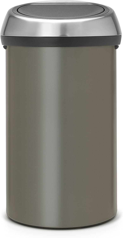 Brabantia Poubelle /à poussoir 60/l