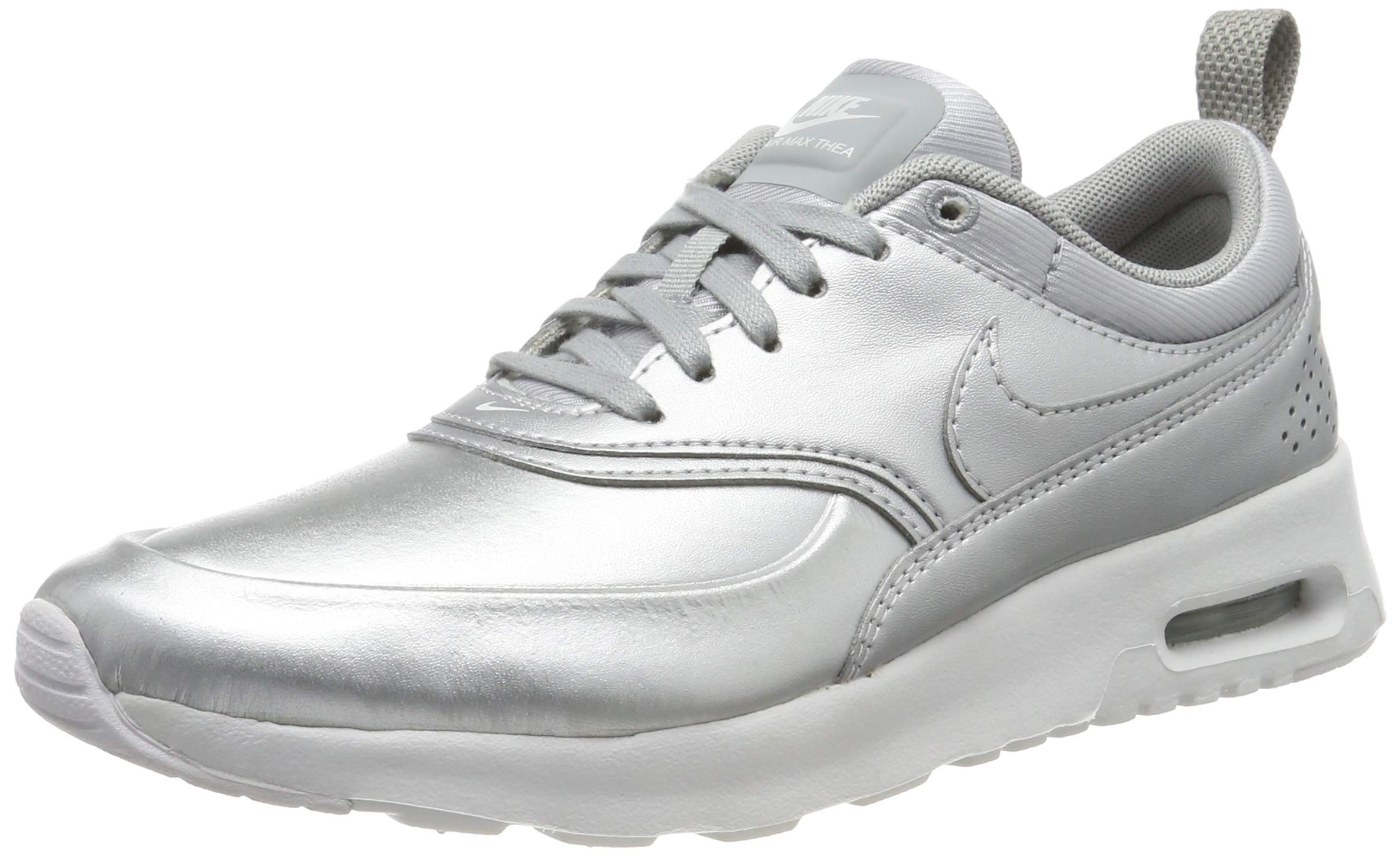 567c0310b6 Galleon - Nike Womens Air Max Thea Se Low Top Lace Up Running Sneaker,  Silver, Size 9.5 O9