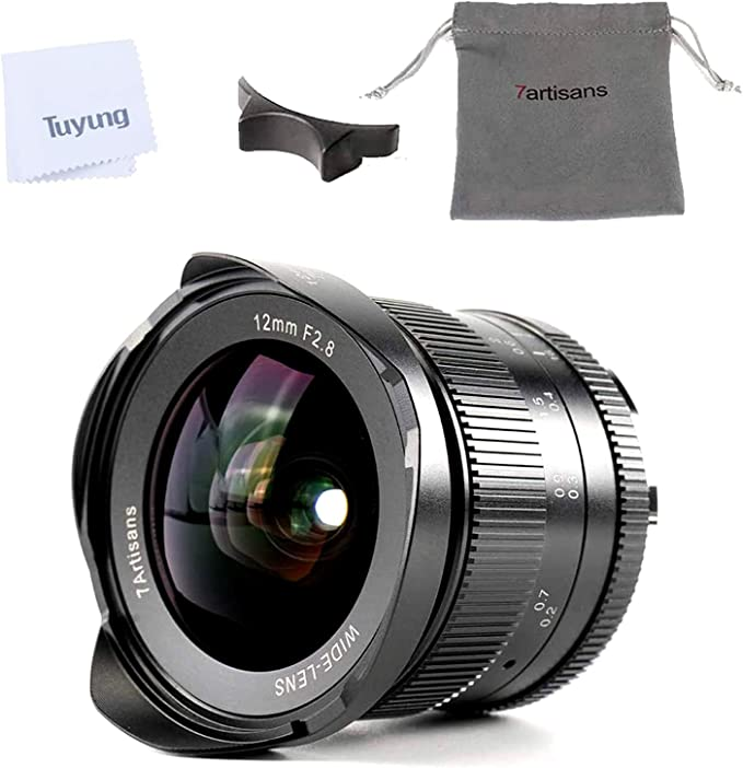 7artisans 12mm F2.8 APS-C Wide Angle Manual Fixed Lens for Sony E ...