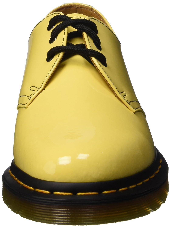 Dr Martens 1461 Patent Acid Yellow Derby Femme