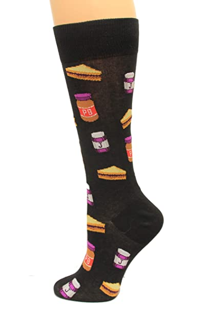 promo code 95570 b6425 Image Unavailable. Image not available for. Color  Hot Socks Peanut Butter  and Jelly ...
