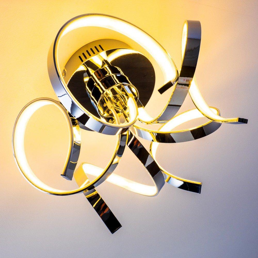 LED Deckenleuchte Colle Mit 30 Watt 2400 Lumen 3000 Kelvin Lichtfarbe Warmweiss Amazonde Beleuchtung