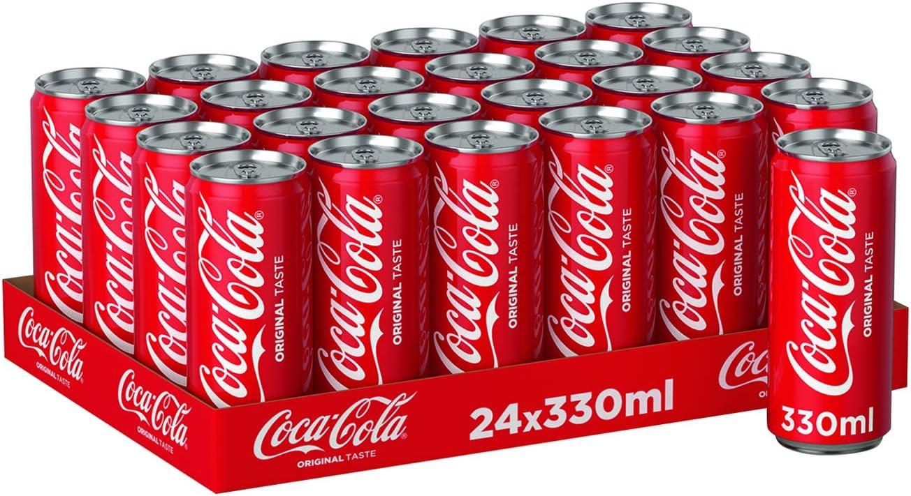 Coca Cola Bebida Refrescante - Paquete de 24 x 13.75 ml - Total: 330 ml: Amazon.es: Alimentación y bebidas