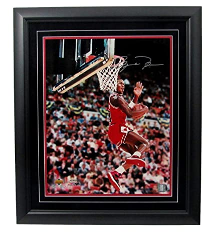 best sneakers 07e9b 4820e Image Unavailable. Image not available for. Color  Michael Jordan Signed ...
