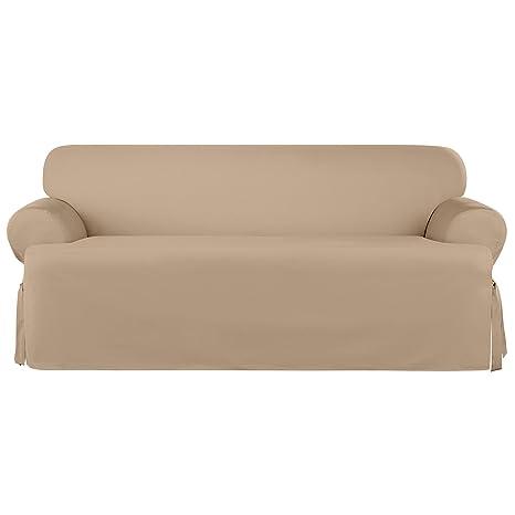 Amazon Com Sure Fit Heavyweight Cotton Duck One Piece T Cushion