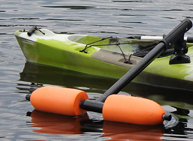 Inspired By Nature Kayak Outriggers/Stabilizers w/Orange Floats