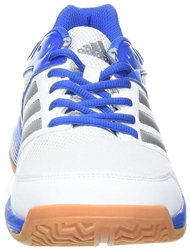 adidas Herren Hallenschuh Speedcourt M weiß blau, G | real