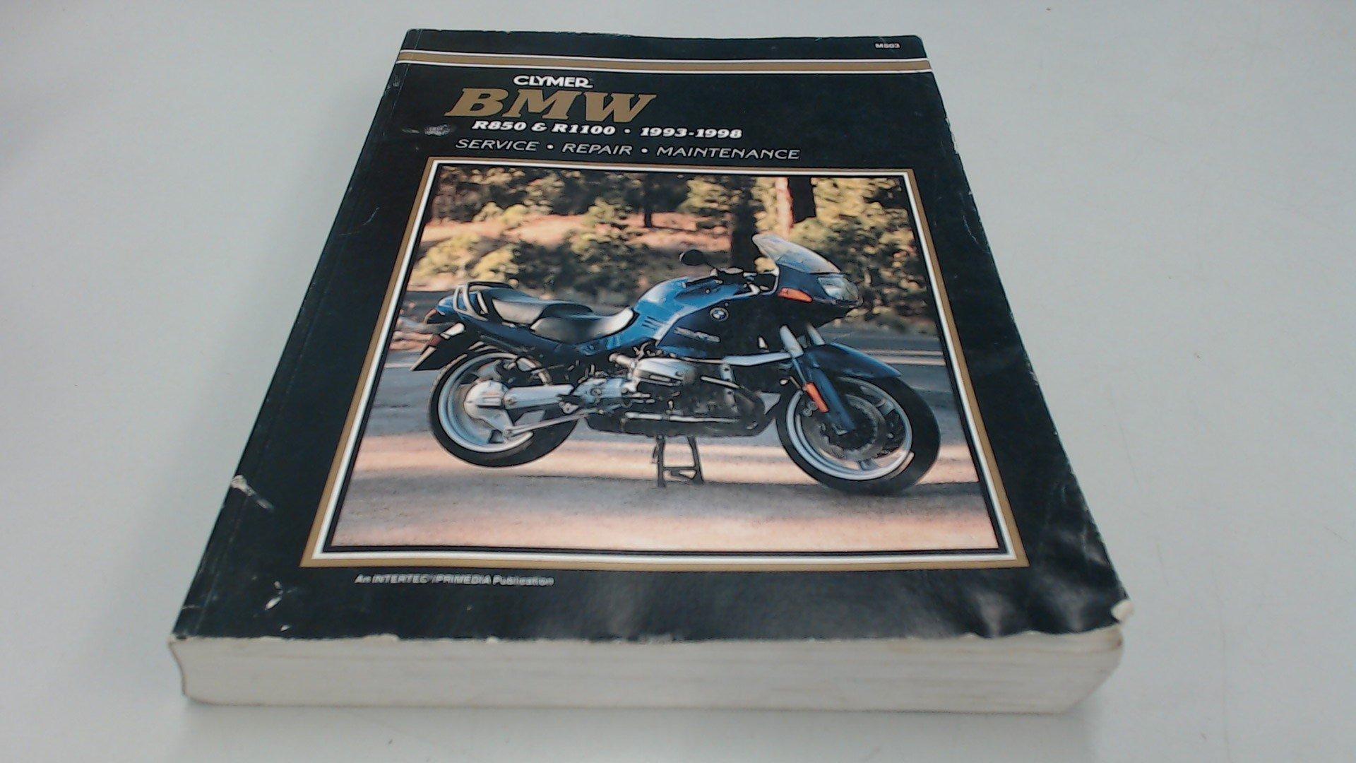 Clymer BMW R850 & R1100, 1993-1998: Service, Repair, Maintenance:  Anonymous: 9780892877201: Amazon.com: Books