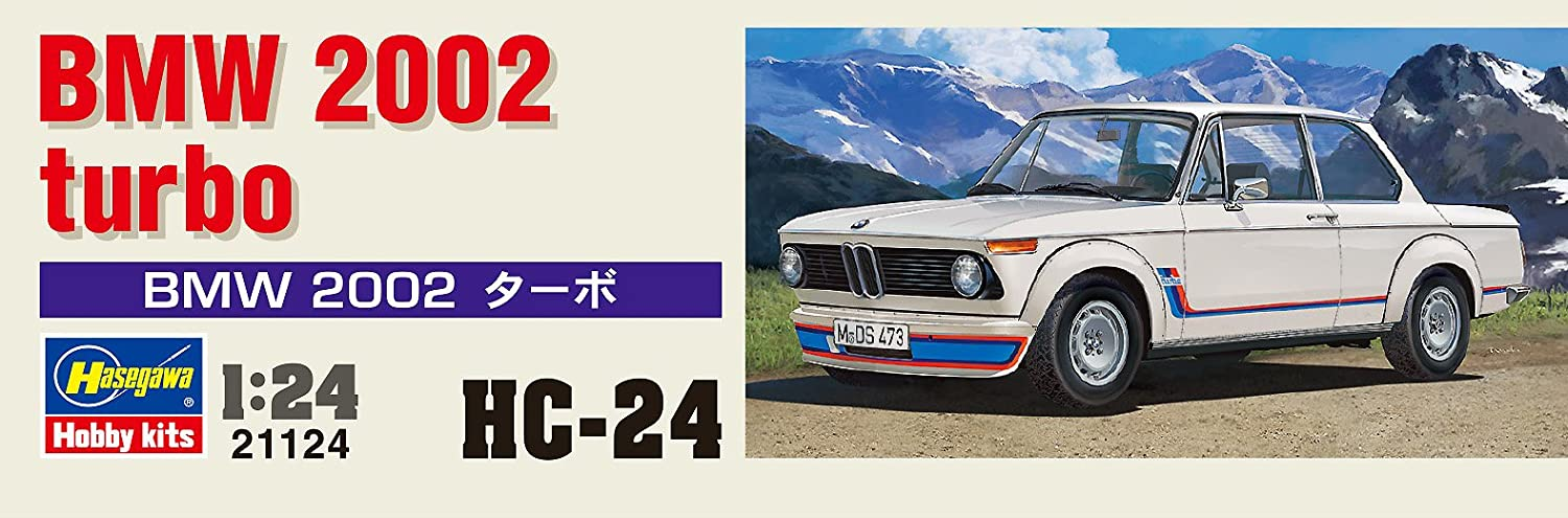 Hasegawa HMCC24 BMW 2002 Turbo - Kit de Modelo, Escala 1:24: Amazon.es: Juguetes y juegos