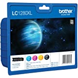Brother LC1280XL Value Pack Black, yellow, cyan, magenta