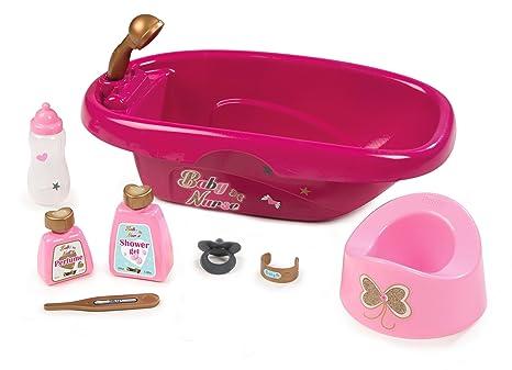 Vasca Da Bagno Barbie Anni 70 : Smoby baby nurse bambole della vasca da bagno rosa amazon