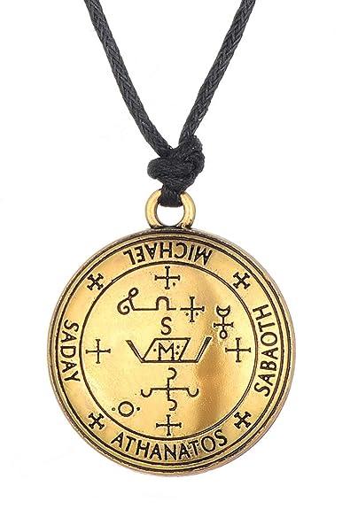 Disveo Archangel Michael Sigil Amulet Enochian Solomon