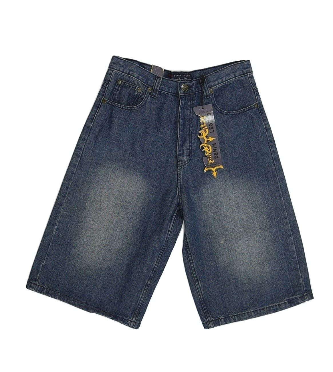 Men/'s Brooklyn Xpress Denim Legend Shorts 222472519284