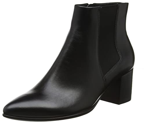 Womens Shape 45 Pointy Block Chelsea Boots, 11 Ecco