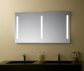 Miroir De Salle De Bain Led Design Elegance Miroir Mural