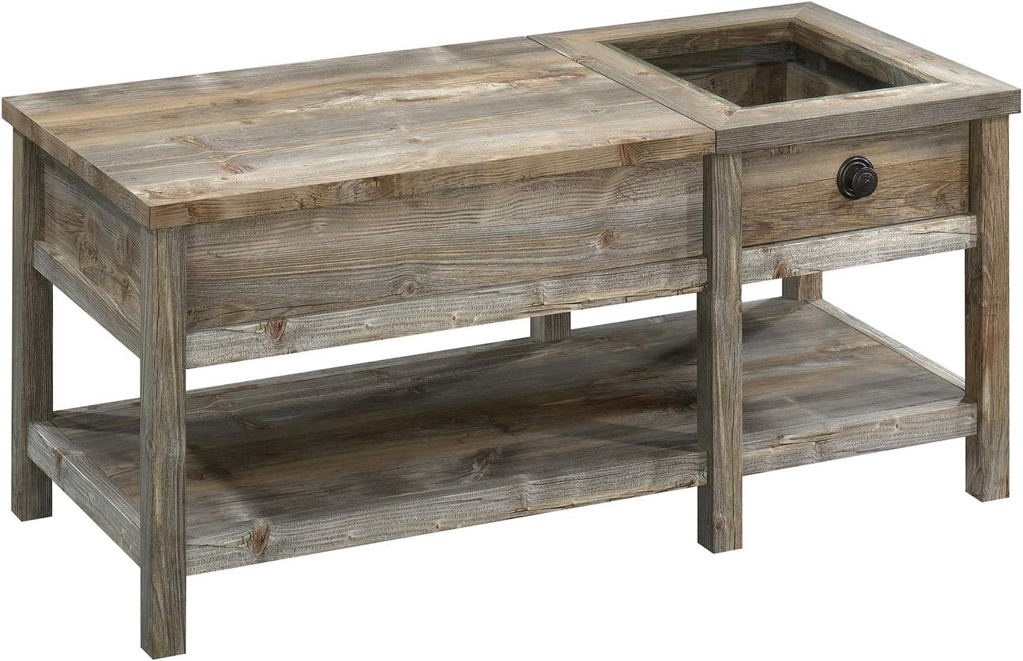 Amazon Com Sauder 424993 Granite Trace Lift Top Coffee Table