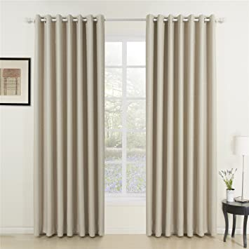 Amazon.com: IYUEGO Wide Curtains 120Inch-300Inch for Large Windows ...