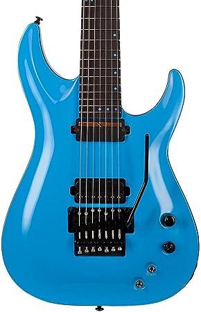 Schecter guitarra Research KM-7 FR-S guitarra eléctrica azul