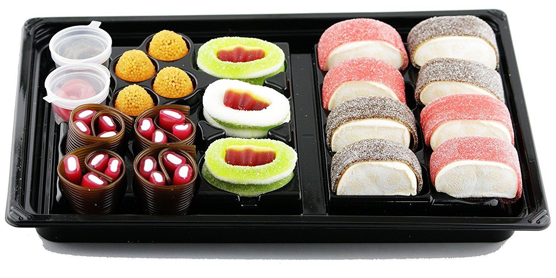 Raindrops Candy Gummy Sushi Bento Box