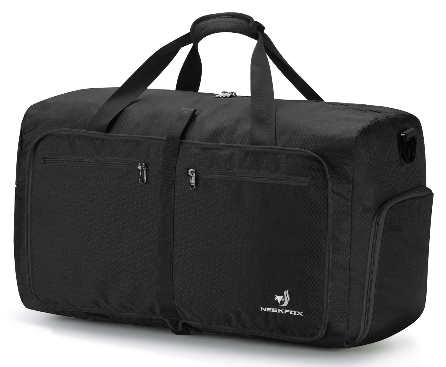 NEEKFOX Foldable Travel Duffel Bag Large Sports Duffle Gym Bag Packable Lightweight Travel Luggage Bag for Men Women (60L)