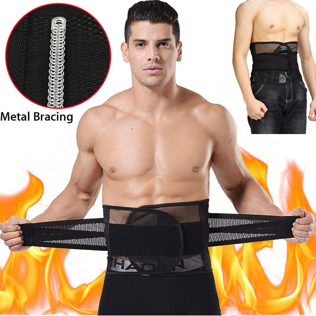 Waist Trainer Belt for Women Men Waist Cincher Trimmer Slimming Body Shaper Sport Girdle Belt Shapewear