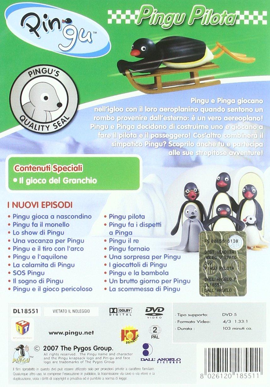 Amazon.com: Pingu - Pilota: animazione, vari: Movies & TV