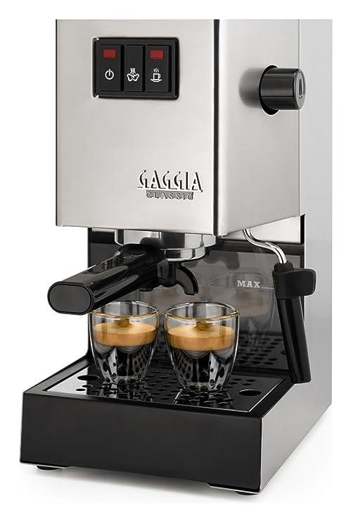 Gaggia ri940311 Classic inoxidable máquina de café espresso manual Potencia 1300 W: Amazon.es: Hogar