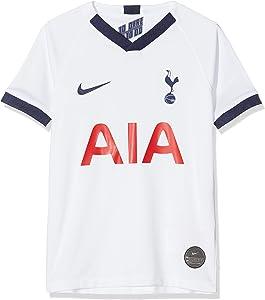 Nike 2019-2020 Tottenham Home Football Soccer T-Shirt Jersey (Kids)
