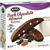 Nonni's Biscotti, Dark Chocolate Almond Flavor, 8 Count, 6.88 Ounce
