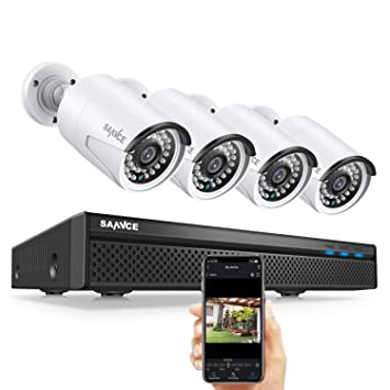 8CH 1080P AHD DVR Outdoor IR CUT CCTV Security 2.0M Camera Surveillance System