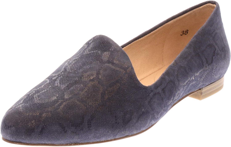 Caprice Schuhe Ballerine Slipper Leder braun