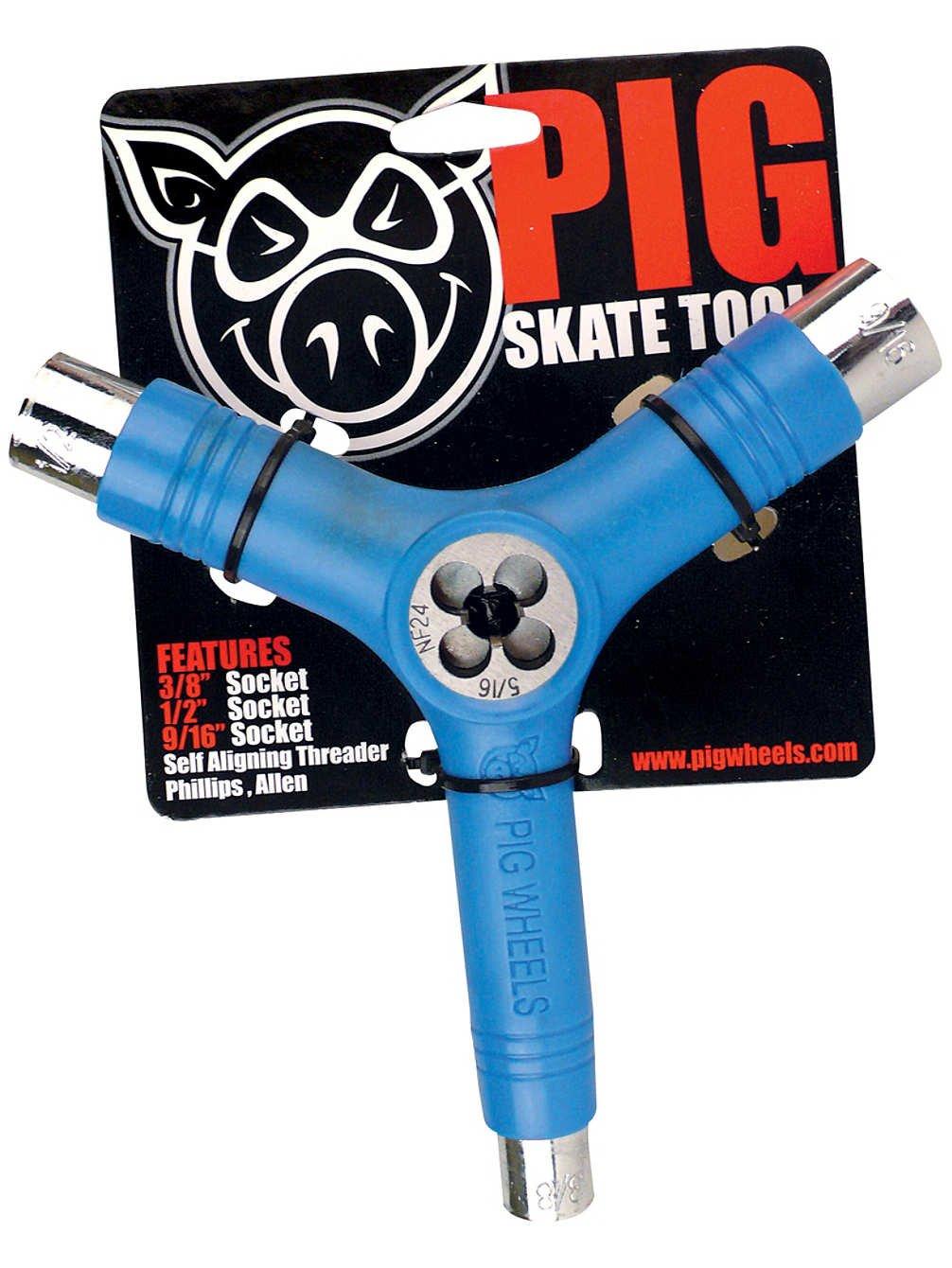 Pig Skate Tool Transparent Clear