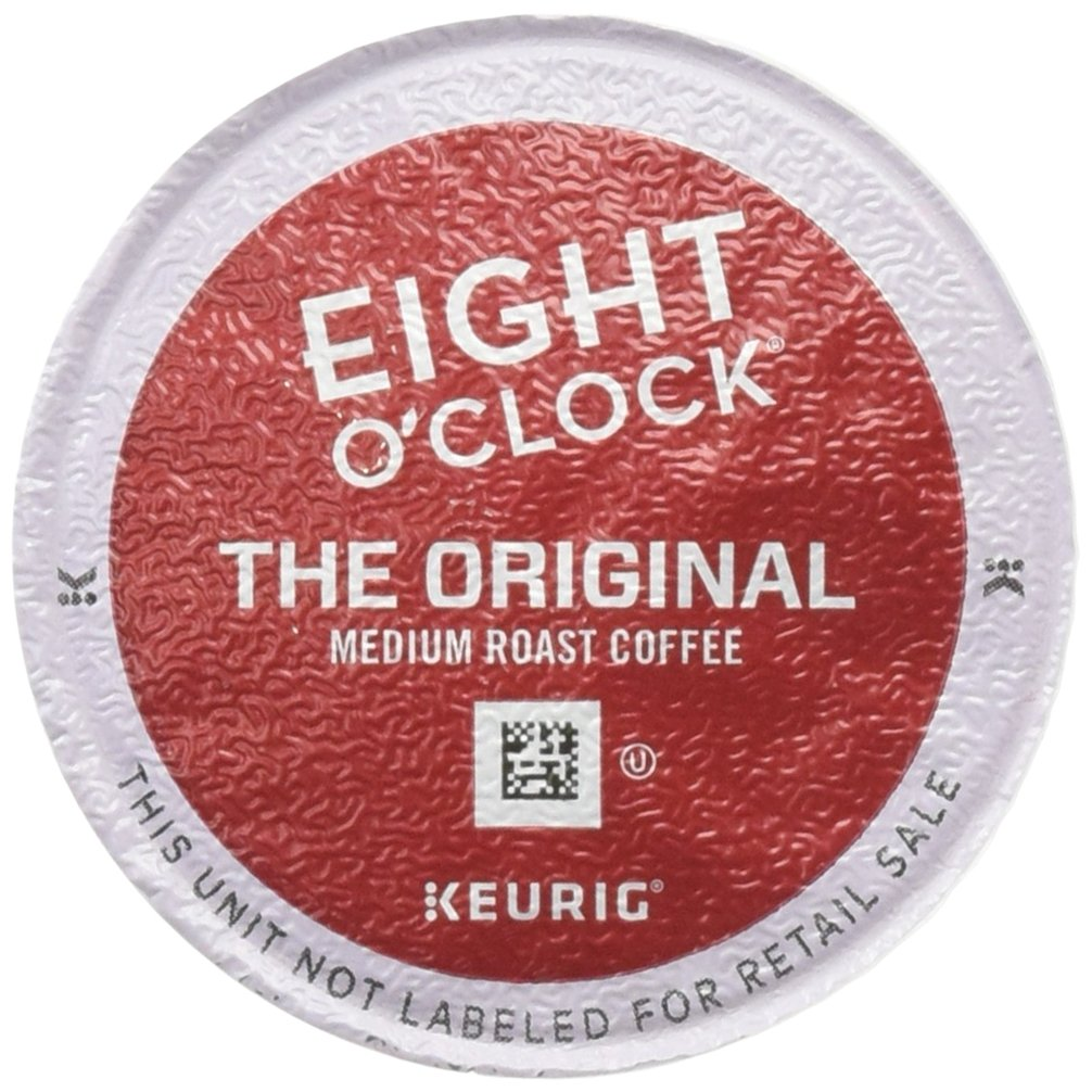 Eight O'Clock Coffee Keurig Single-Serve K-Cup Pods, The Original Medium Roast Coffee, 24 Count