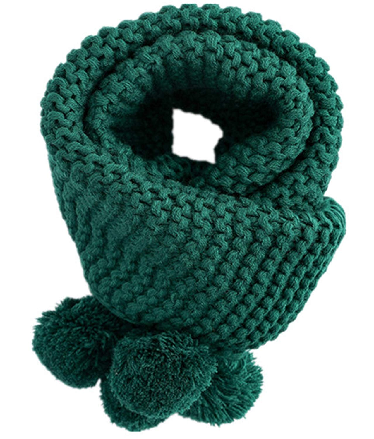 SDHEIJKY Winter Warm Baby Long Cotton Scarf Boys Girls Neck Collar Kids Knitted Scarves