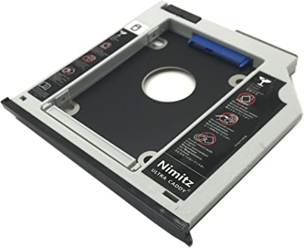 ULTRACADDY 2ª HDD SSD Disco Duro Caddy para HP Zbook 15 ...