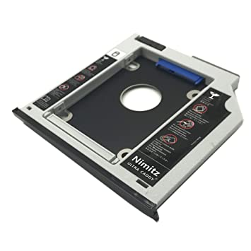 ULTRACADDY 2ª HDD SSD Disco Duro Caddy para HP Zbook 15 Zbook 17 ...