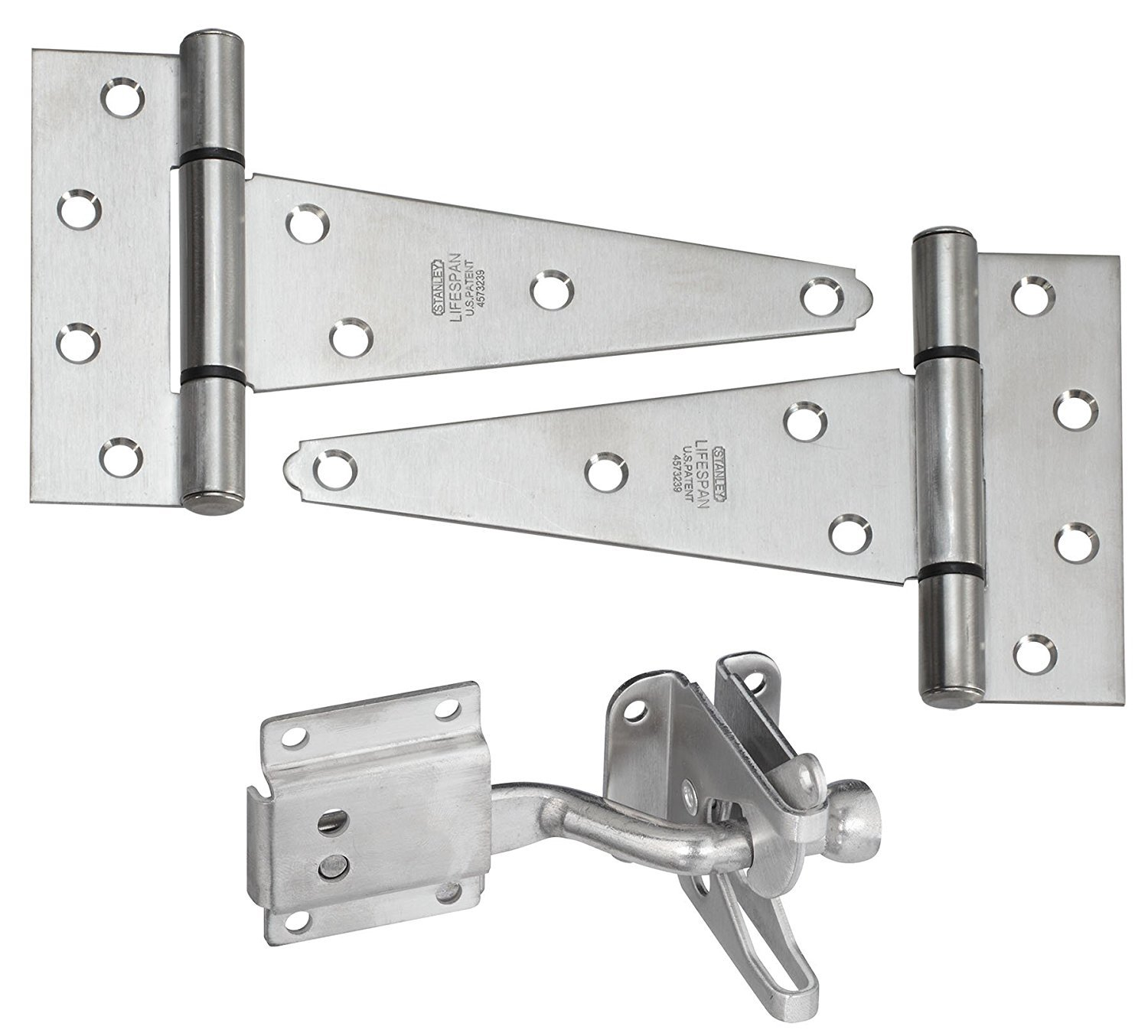 Stanley Hardware S824-300 CD1305 Gate Kits - Stainless Steel in Stainless Steel