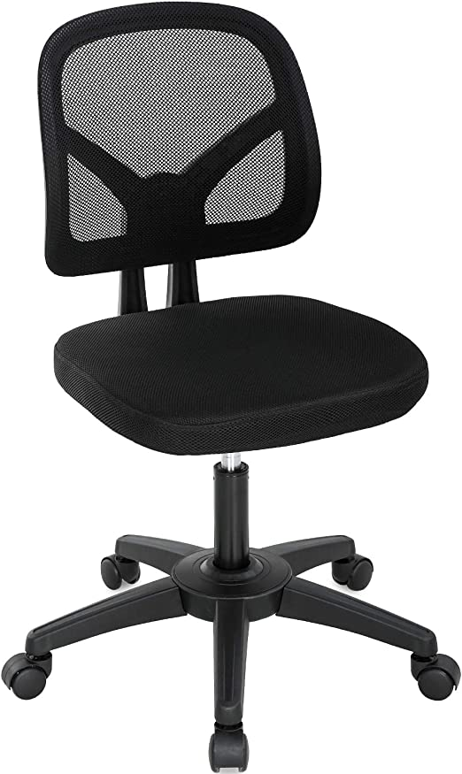 Amazon Com Home Office Chair Ergonomic Desk Chair Mesh Computer Chair With Lumbar Support Swivel Rolling Executive Adjustable Task Chair For Women Adults Black Furniture Decor